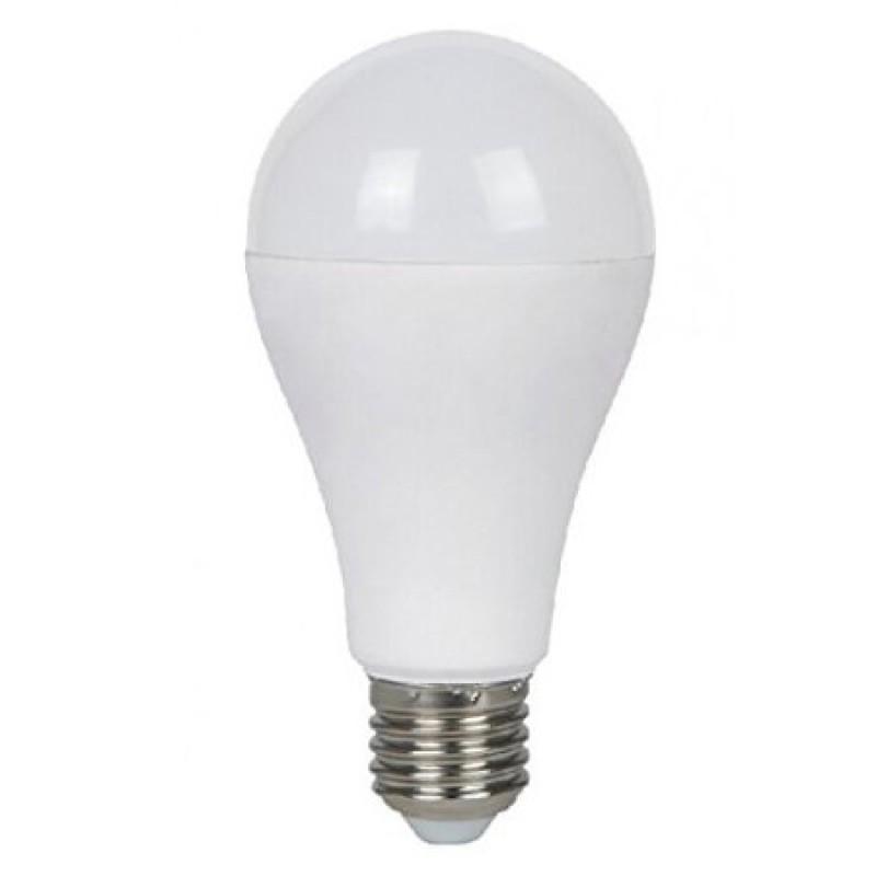 Bec cu LED, 15 W, 1500 lm, 6000 K, soclu E27, lumina alb rece, forma A65 shopu.ro
