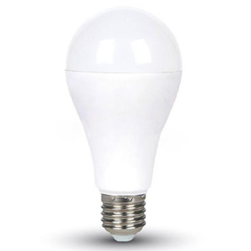 Bec cu LED, 17 W, 1521 lm, 6000 K, soclu E27, lumina alb rece, forma A65 shopu.ro
