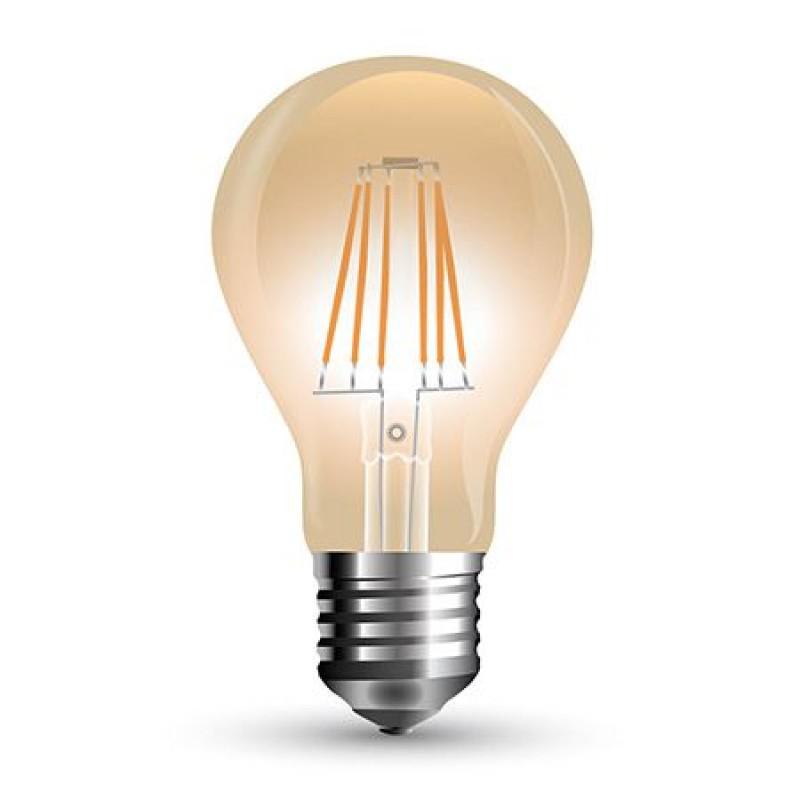 Bec LED, soclu E27, 900 lm, 10 W, 2200 K, alb cald shopu.ro