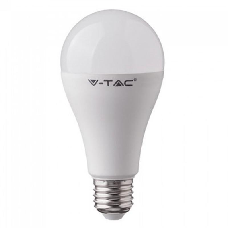 Bec LED cu acumulator, soclu E27, 806 lm, 9 W, 6400 K, alb rece 2021 shopu.ro
