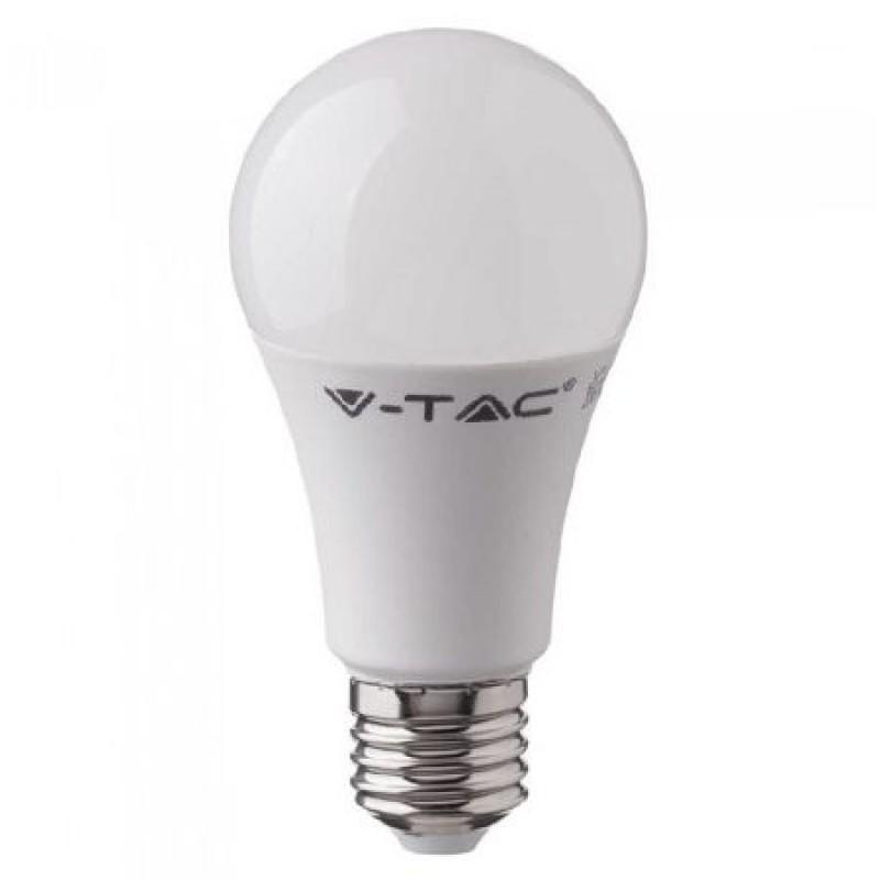 Bec economic cu LED, 18 W, 2000 lm, 6400 K, soclu E27, lumina alb rece, cip Samsung, forma A80 shopu.ro