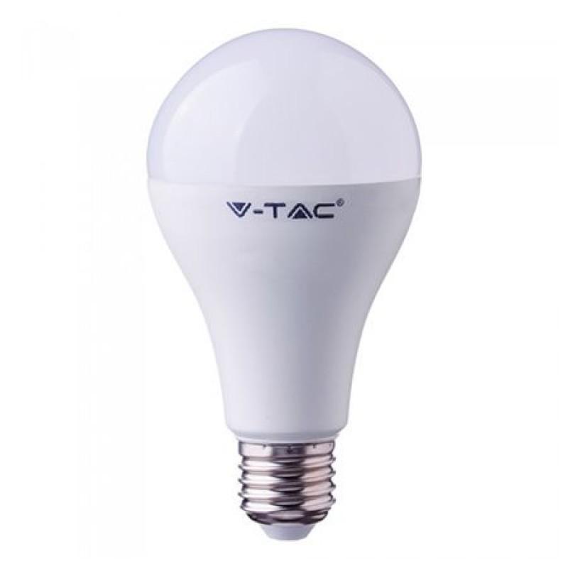 Bec LED, soclu E27, 18 W, 6400 K, alb rece, 2000 lm shopu.ro