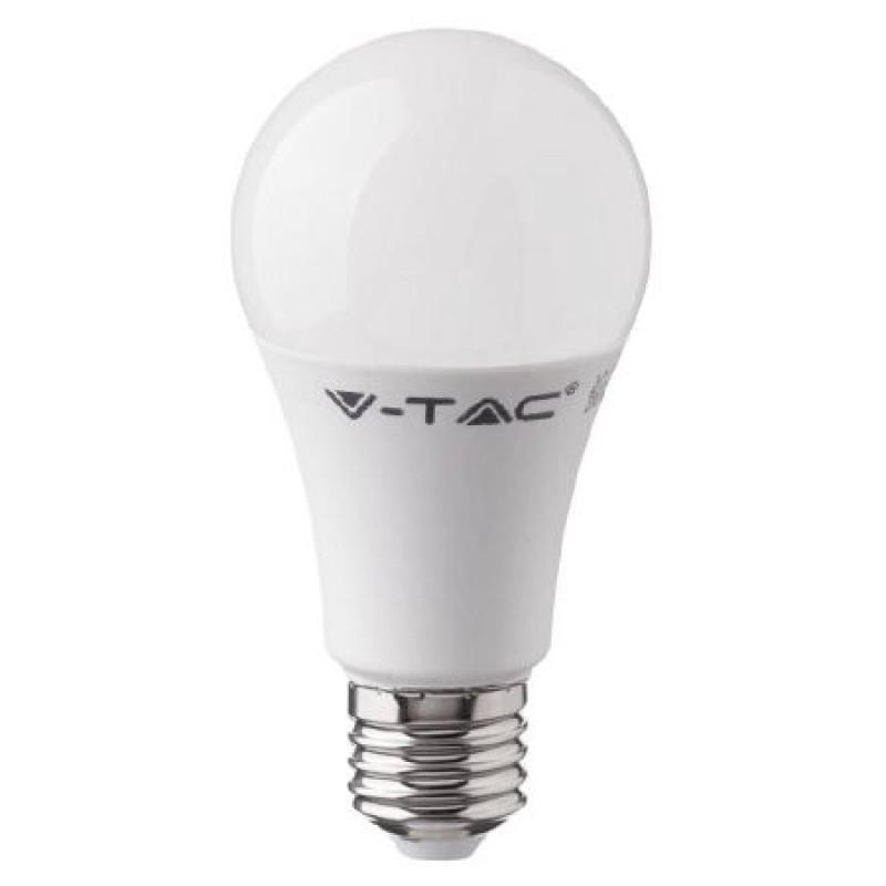 Bec LED RGB, 9 W, soclu E27, 1400 lm, 3000 K, alb rece, telecomanda inclusa 2021 shopu.ro