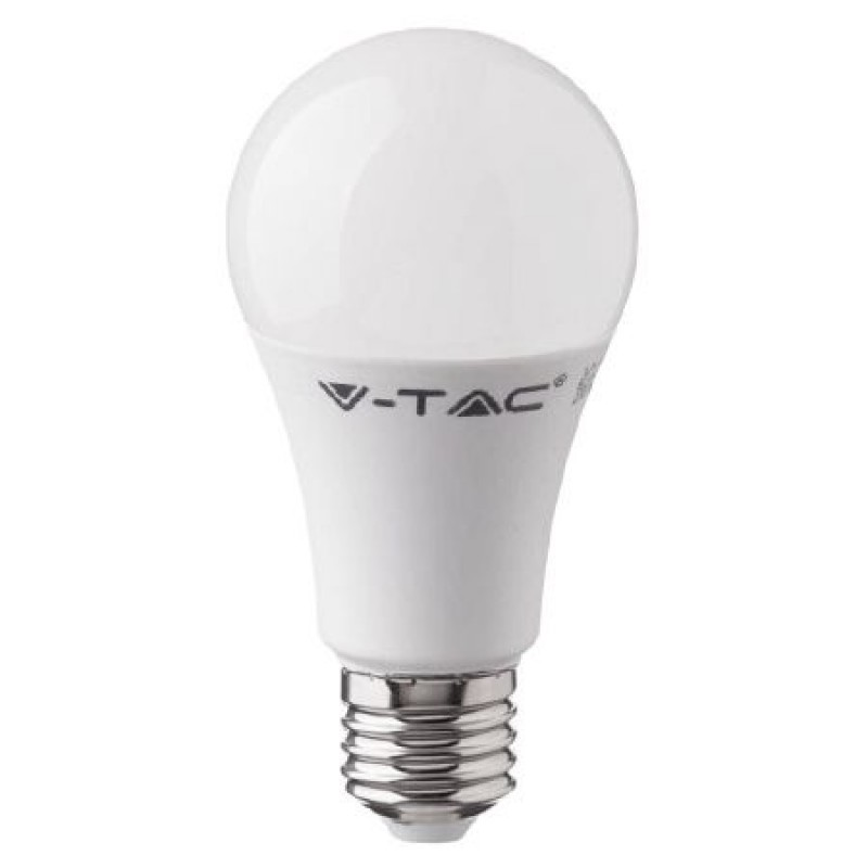 Bec LED RGB, 9 W, soclu E27, 1400 lm, 4000 K, alb neutru, telecomanda inclusa
