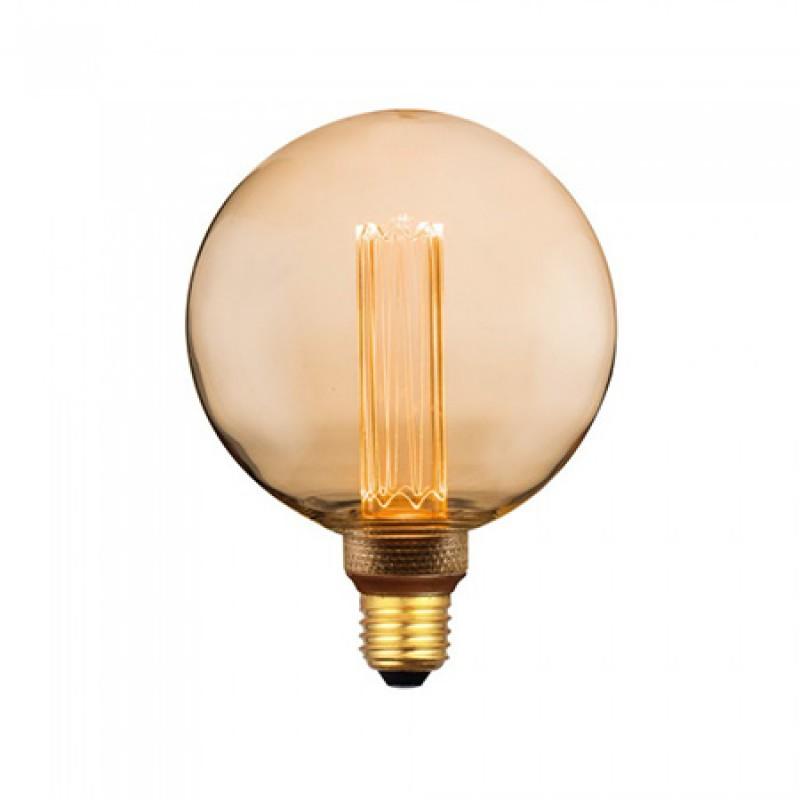 Bec LED, soclu E27, 200 lm, 4 W, 1800 K, alb cald