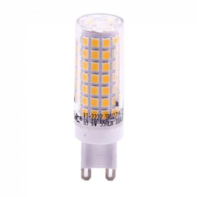 Bec LED, soclu G9, 550 lm, 6 W, 6400 K, alb rece shopu.ro