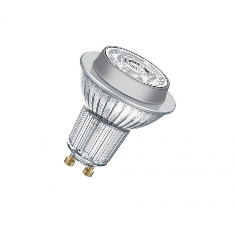 Bec LED Osram Parathom, GU10, 9.1 W, 3000 K, 750 Lumeni, 220 V, 15000 ore, clasa energetica A+ shopu.ro
