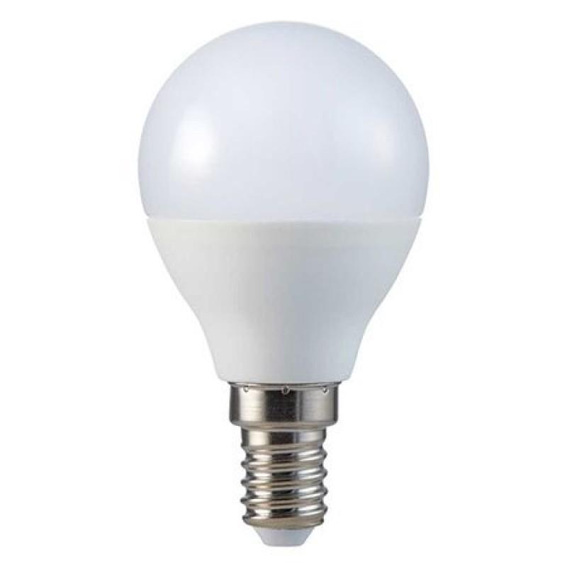Bec economic cu LED, 5.5 W, 470 lm, 4000 K, soclu E14, lumina alb neutru, cip Samsung, forma P45 2021 shopu.ro