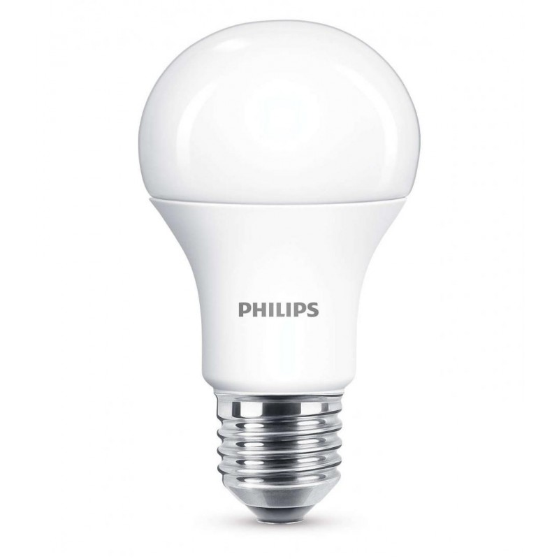 Bec LED Philips, 11 W, 2700 K, 1055 Lumeni, 220 V, E27, alb cald, 15000 ore, clasa energetica A+ shopu.ro