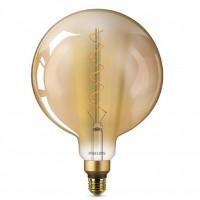 Bec LED Philips Classic G200 Vintage, 5 W, 2000 K, 300 Lumeni, 230 V, E27, Gold