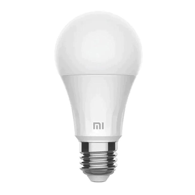Bec smart LED Xiaomi, 8 W, 810 lm, 2700 K, lumina alb cald 2021 shopu.ro