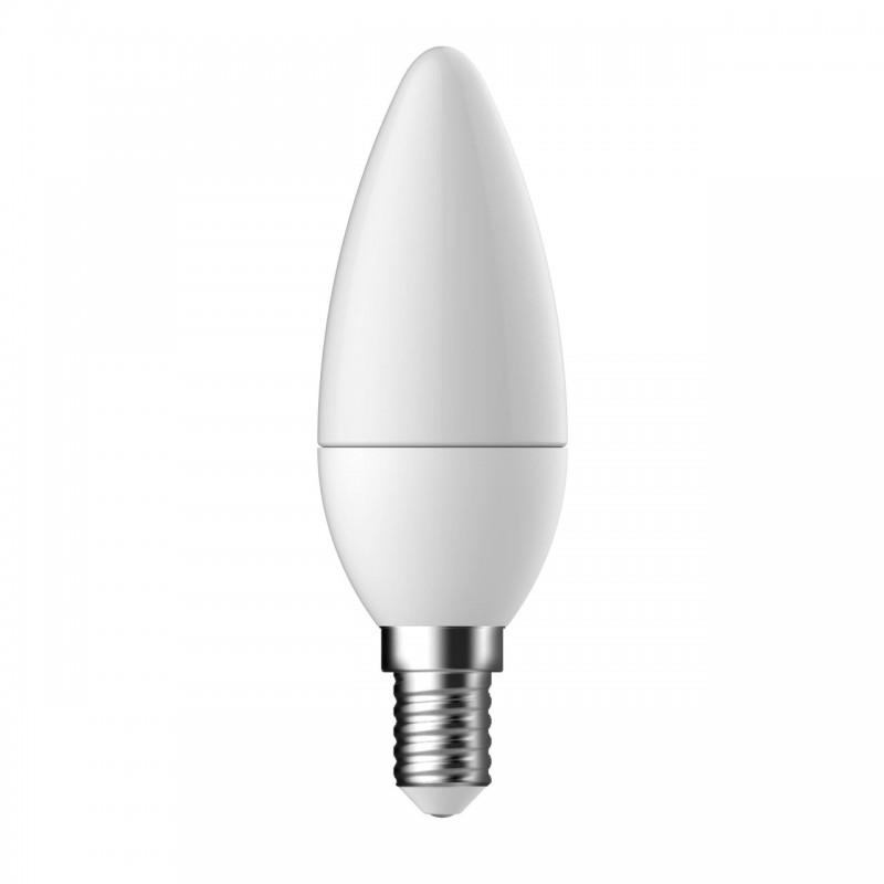 Bec LED Tungsram, E14, forma lumanare, 5.5 W, 10000 ore, lumina calda shopu.ro