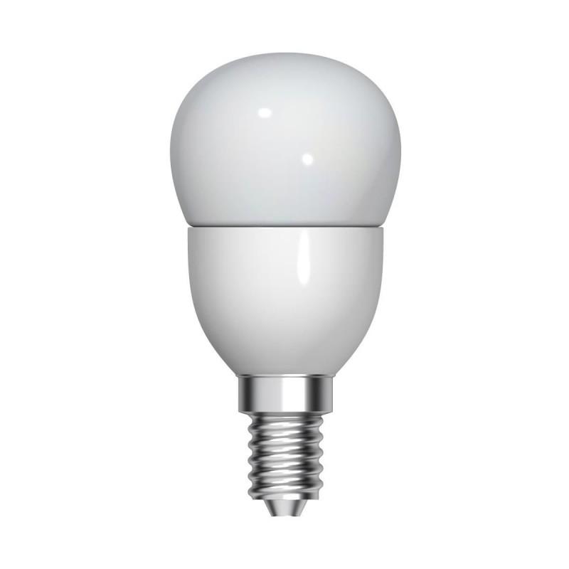 Bec LED Tungsram, E14, forma sferica, 5.5 W, 10000 ore, lumina calda 2021 shopu.ro