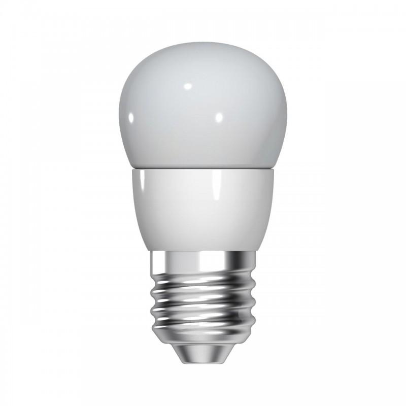 Bec LED Tungsram, E27, forma sferica, 5.5 W, 10000 ore, lumina calda shopu.ro