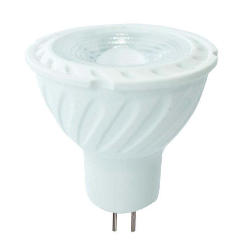 Spot cu LED, 6.5 W, 450 lm, 3000 K, soclu MR16, lumina alb cald, cip Samsung, forma PAR16 shopu.ro