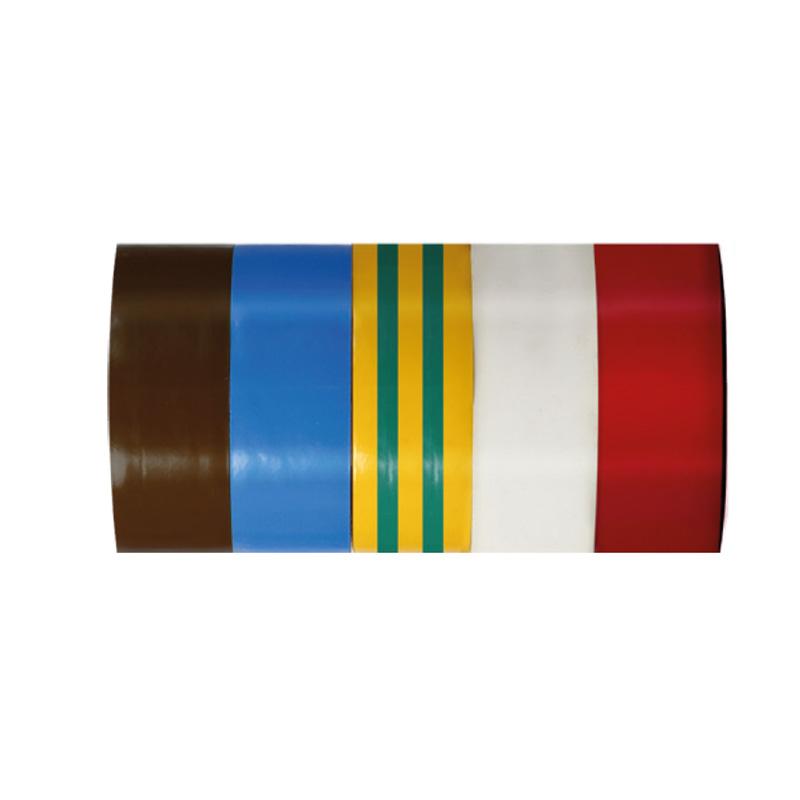 Set benzi izolatoare Mega, 19 x 0.13 mm, 10 m, 5 bucati, Multicolor 2021 shopu.ro
