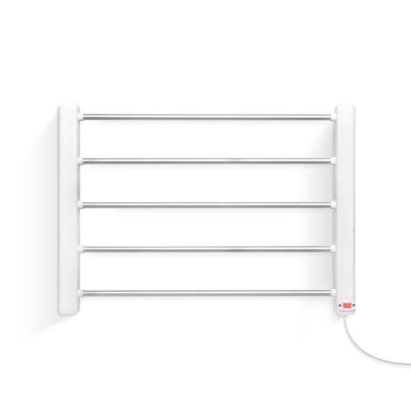 Uscator electric pentru prosoape Bewello, 65 W, 230 V, plastic/metal, cablu 150 cm, Alb shopu.ro