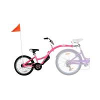 Bicicleta Co-Pilot WeeRide, design atractiv, dimensiune roata Co-Pilot 20 inch, Roz