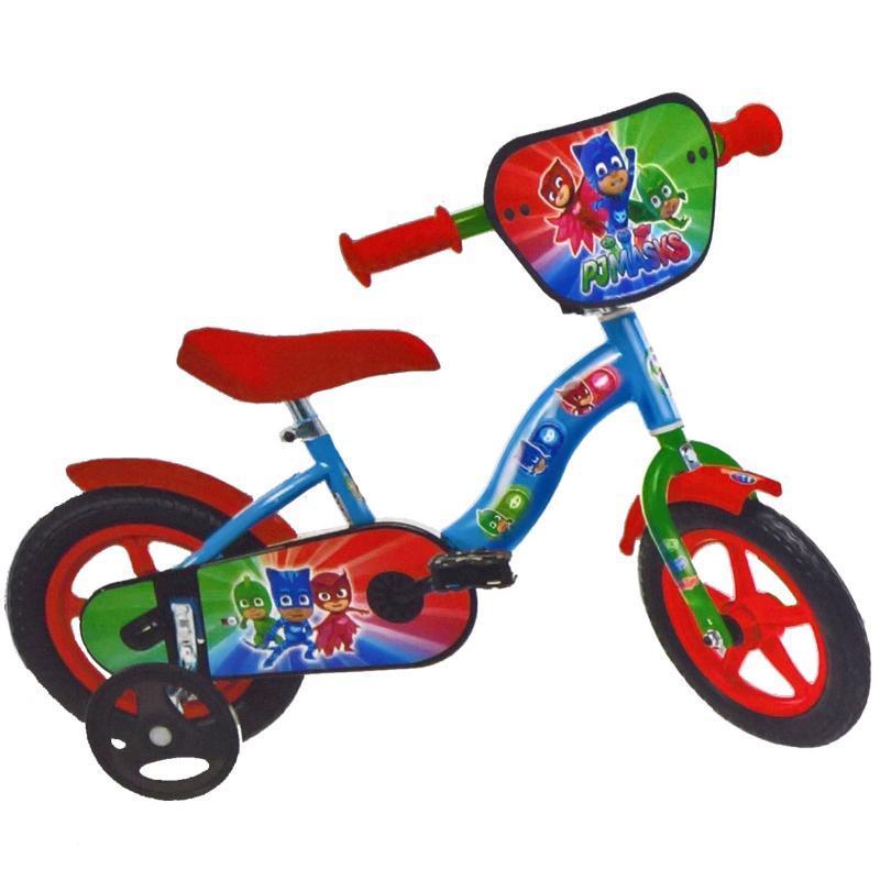 Bicicleta pentru copii Dino Bikes Eroii in Pijama, 10 inch 2021 shopu.ro