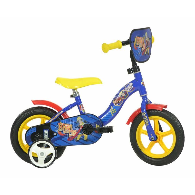 Bicicleta pentru copii Dino Bikes Pompierul Sam, 10 inch 2021 shopu.ro