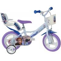 Bicicleta copii Dino Bikes, diametru roata 30 cm, model Frozen