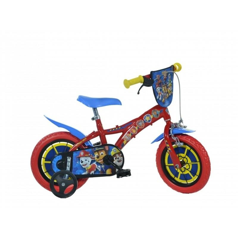 Bicicleta pentru copii Dino Bikes Patrula Catelusilor, 12 inch 2021 shopu.ro