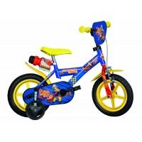 Bicicleta pentru copii Dino Bikes Pompierul Sam, 12 inch