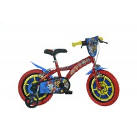 Bicicleta copii Dino Bikes, diametru roata 35 cm, model Paw Patrol