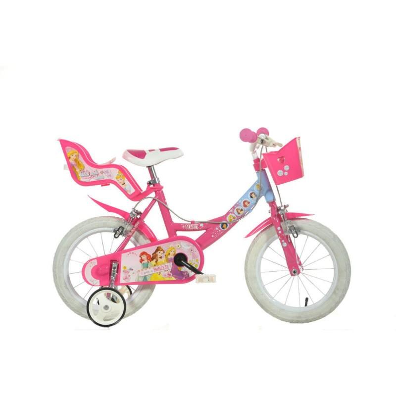 Bicicleta pentru copii Dino Bikes Princess, varsta recomandata 4 ani+ 2021 shopu.ro