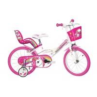 Bicicleta pentru copii Dino Bikes Unicorn, 14 inch