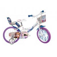 Bicicleta copii Dino Bikes, diametru roata 40 cm, model Frozen