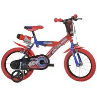 Bicicleta pentru copii Spiderman, 16 inch, 5-7 ani, maxim 60 kg