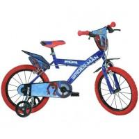 Bicicleta pentru baieti Dino Bikes Spiderman Home, 16 inch, 5-7 ani