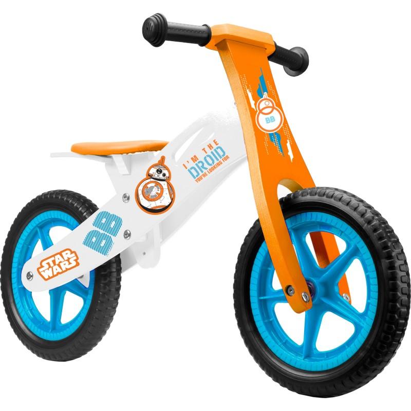 Bicicleta din lemn fara pedale Star Wars Seven SV9911, 12 inch, 2-6 ani 2021 shopu.ro