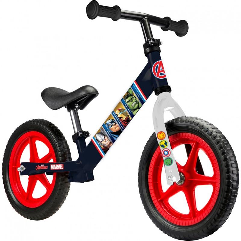 Bicicleta fara pedale Avengers Seven, suporta maxim 28 kg, 2 ani+