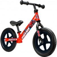 Bicicleta fara pedale Spiderman Seven, suporta maxim 28 kg, 2 ani+
