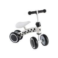 Bicicleta fara pedale Kruzzel, 42 x 46 x 19 cm, cadru aluminiu, 4 roti, maxim 50 kg, 1-3 ani, Alb/Negru