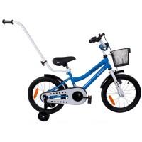 Bicicleta BMX Junior 16 Sun Baby, 4 ani +, Albastru