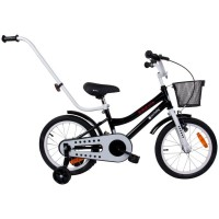 Bicicleta BMX Junior 16 Sun Baby, 4 ani +, Negru