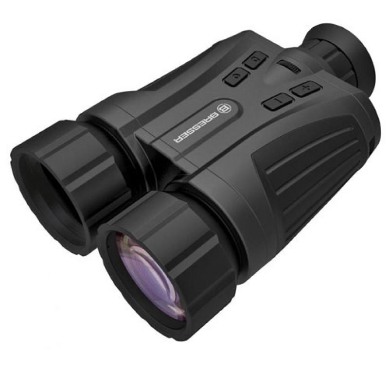 Binocular Night Vision Bresser 5x42, viziblitate 200 m, geanta transport 2021 shopu.ro
