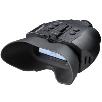 Binocular Night Vision digital Bresser 3X W 1877490, digital, detectie 120 m