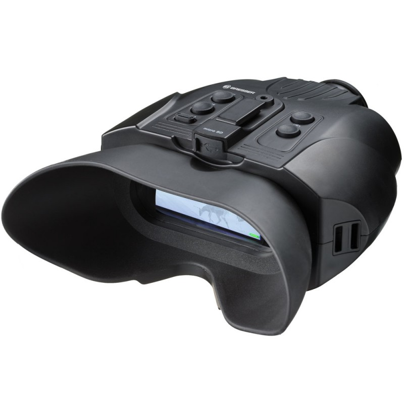 Binocular Night Vision digital Bresser 3X W 1877490, digital, detectie 120 m 2021 shopu.ro