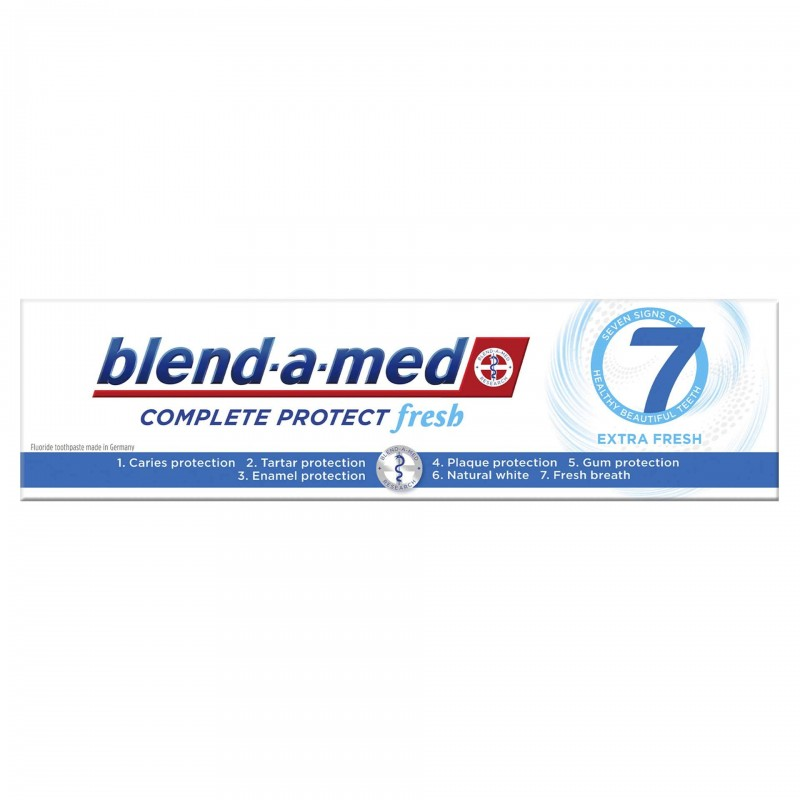 Pasta de dinti Blend-a-Med Complete 7 Extra Fresh, 100 ml 2021 shopu.ro