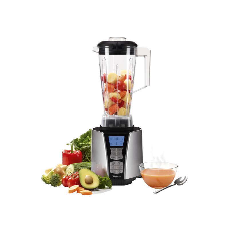 Blender de masa Trisa Vital Fit, 1500 W, 35.000 rpm, display LCD