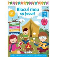 Carte pentru copii Blocul meu cu jocuri Girasol, 8 ani+