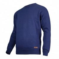 Bluza Lahti, talie si mansete elastice, 60% bumbac, captusita in interior, marime L, Albastru