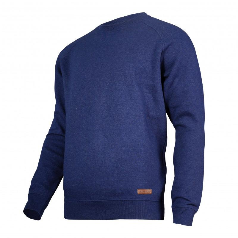 Bluza Lahti, talie si mansete elastice, 60% bumbac, captusita in interior, marime L, Albastru shopu.ro