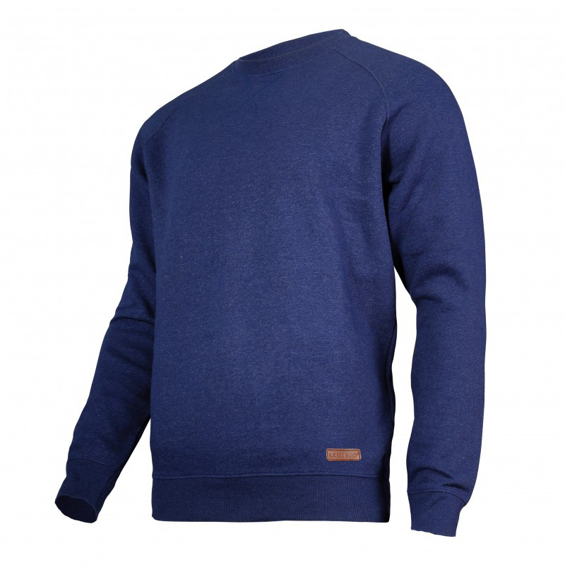 Bluza Lahti, talie si mansete elastice, 60% bumbac, captusita in interior, marime XL, Albastru 2021 shopu.ro
