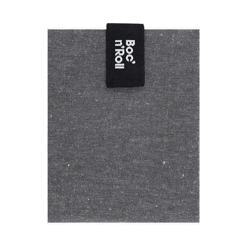 Ambalaj reutilizabil pentru sandwich Boc'n'Roll Eco, Negru 2021 shopu.ro