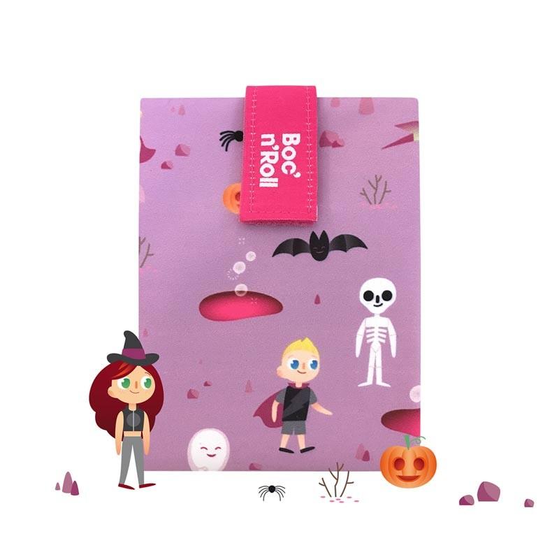 Ambalaj reutilizabil pentru sandwich Boc'n'Roll Kids, model Fantasy 2021 shopu.ro